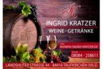 Getränkemarkt – Weinladen – Kratzer Ingrid